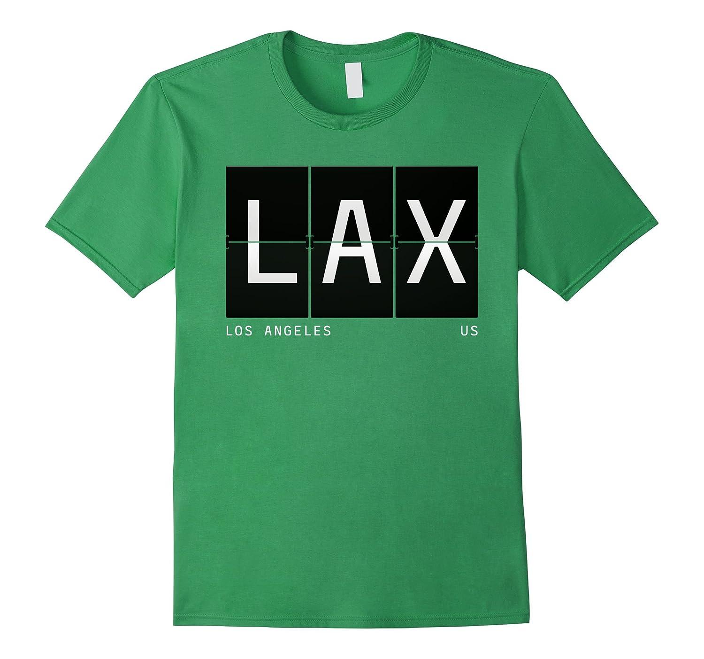 LAX Los Angeles California US World Traveler T Shirt-Art