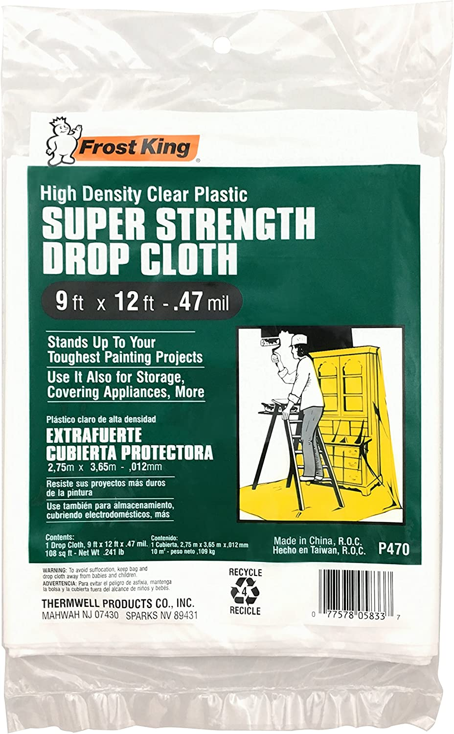 Super Strength High Density Drop Cloth