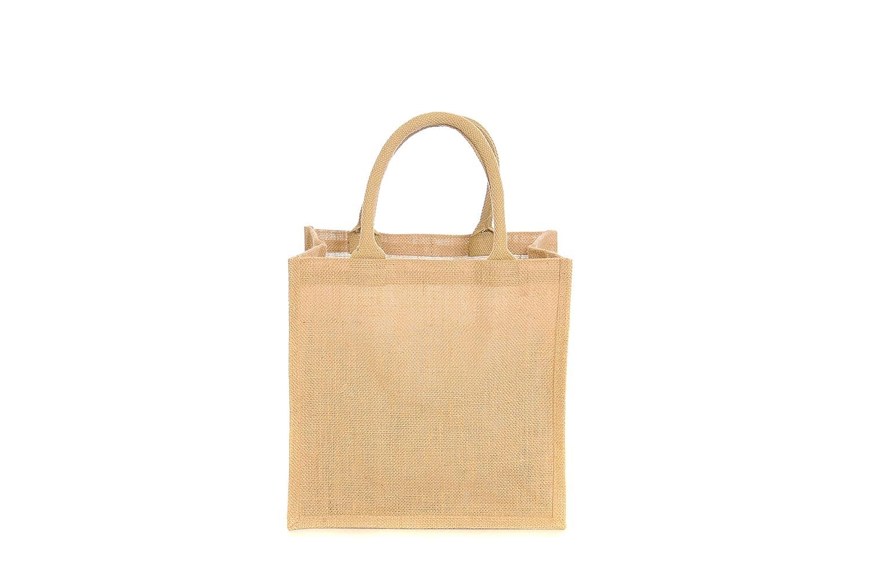performance sportswear attractive price various design 10 x Jute Hessian Medium Luxury Plain Shopping Bag
