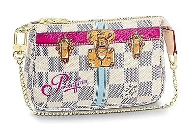 5e982e48e Image Unavailable. Image not available for. Color: PORTOFINO WRISTLET MINI  POCHETTE ACCESSORIES Louis Vuitton Summer Trunk Bag ...
