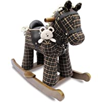 Little Bird Told Me Rufus & Ted Infant Wood Rocking Horse LB3018