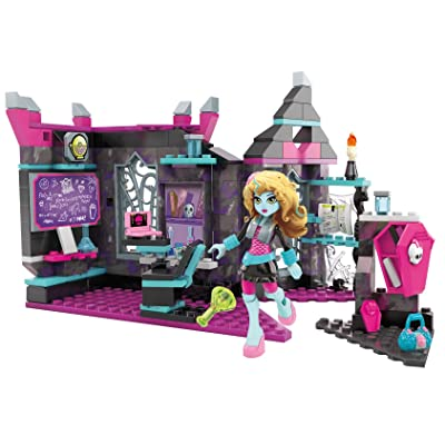 Mega Construx Monster High Mad Biteology Class Building Set: Toys & Games