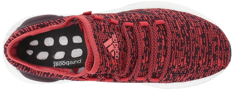 adidas Performance Men's Pureboost Medium Running Shoe B01N0TF7OE 17 Medium Pureboost US|Tactile Red/Dark Burgundy/Black e58360