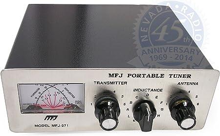 971 MFJ/portátil para cámaras de la unidad de sintonización con manual de antena, fundas HF 1,8-30 mhz