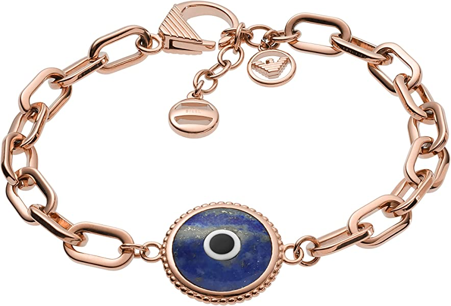 ff99765b3a Emporio Armani Women Stainless Steel Hand Chain Bracelet ...