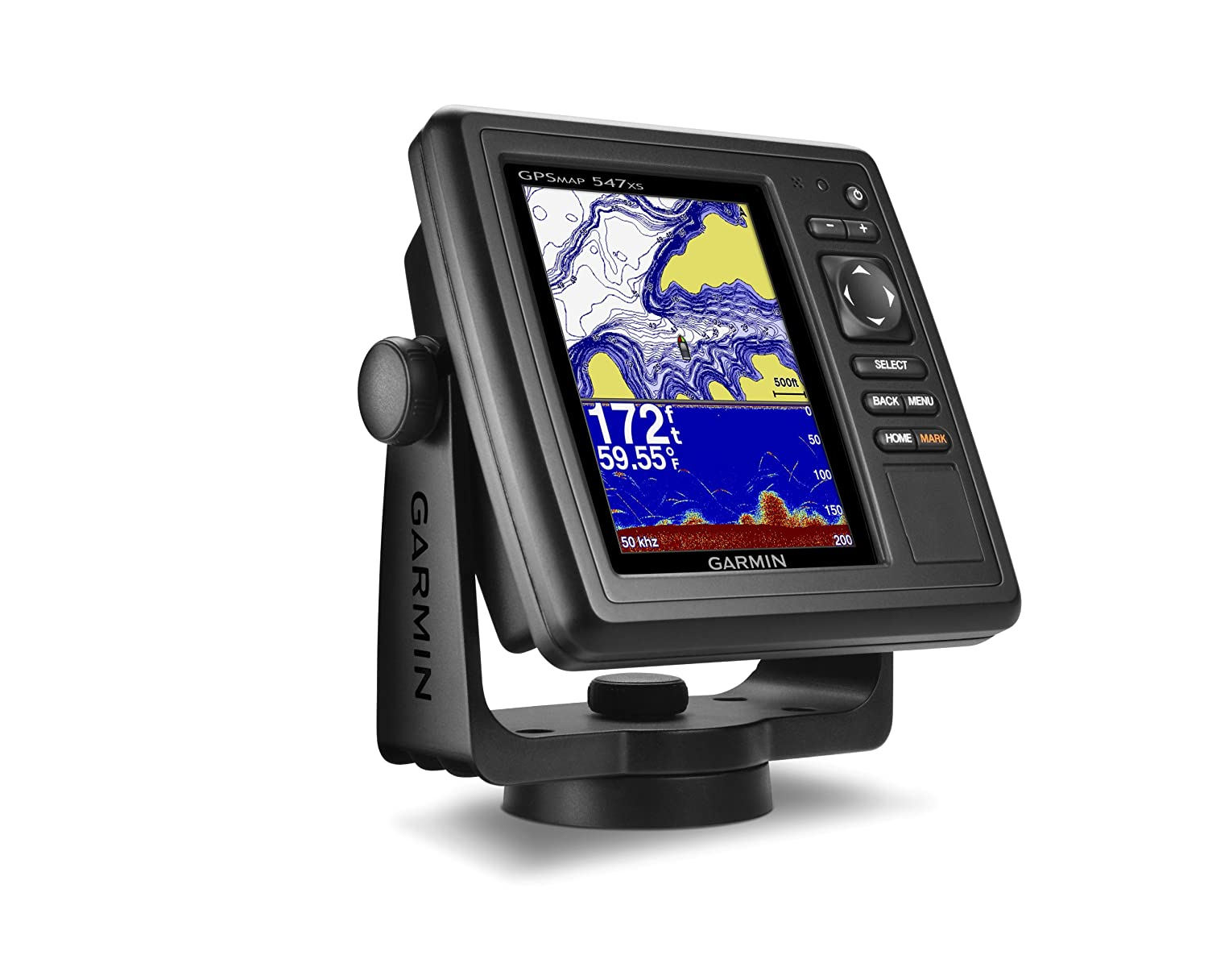 Garmin GPSMAP 547xs 10Hz GPS/GLONASS Receiver without Transducer