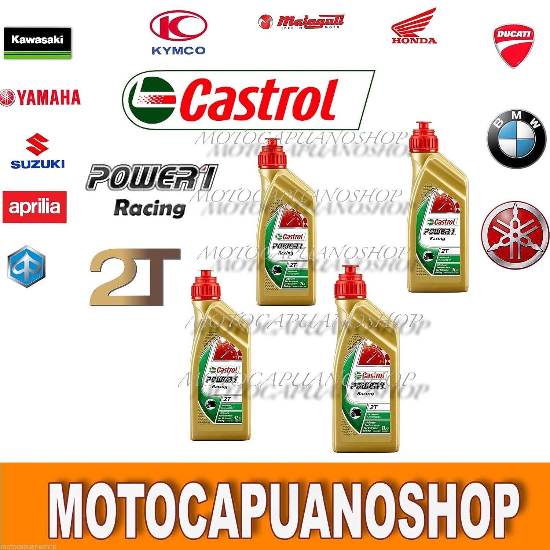 4 l 4 l aceite mezcla Motor moto Castrol Power1 Racing 2T 100 ...