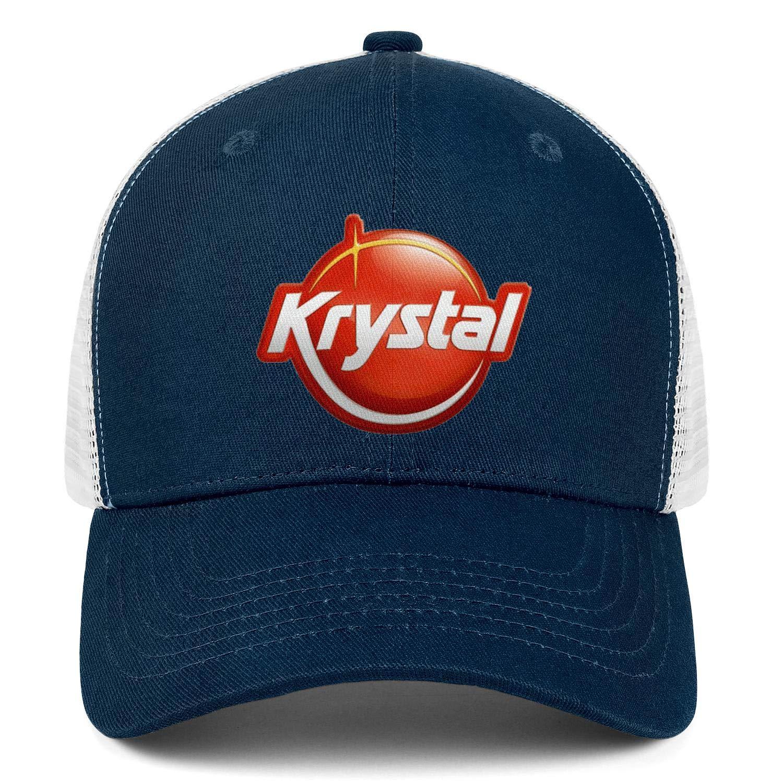 chenhou Unisex Krystal-Logo Hat Adjustable Fitted Dad Baseball Cap Trucker Hat Cowboy Hat