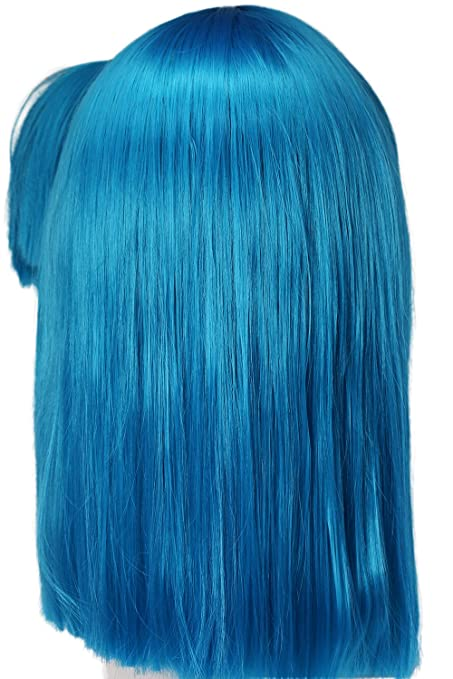 Amazon.com: Bulma Wig Dragon Ball Z Cosplay Pre-styled Wig Hair Accessories Coslive: Beauty