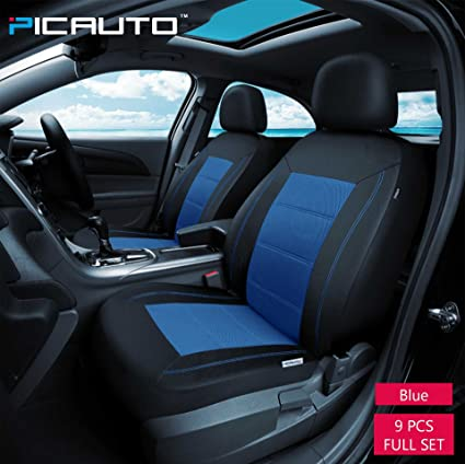 Amazon PIC AUTO Universal Fit Full Set Mesh And Leather Car