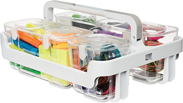 Deflecto Craft Storage Collection Sewing Accessories Caddy Wall Mount
