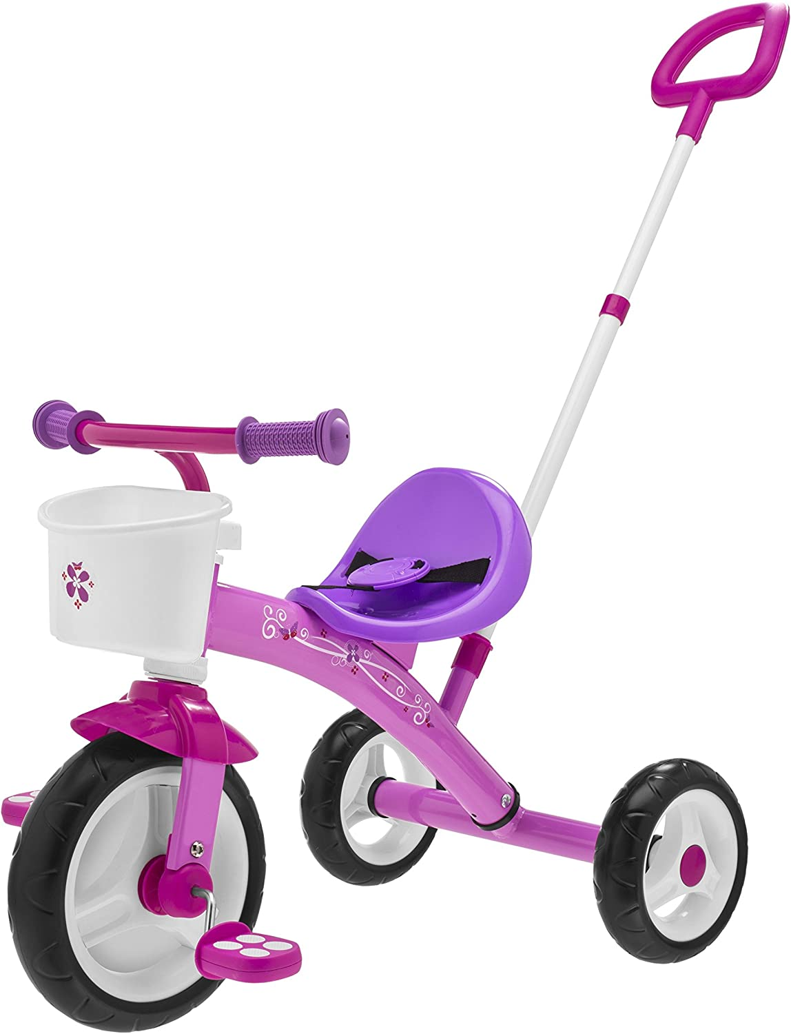 Chicco- U-GO Triciclo 2 en 1, Color Rosa (Artsana Spain 00007412100000)