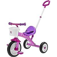 Chicco- U-GO Triciclo 2 en 1, Color Rosa