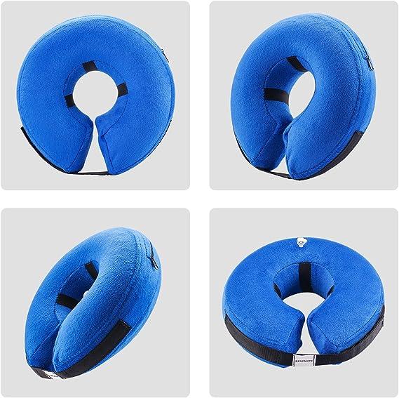 Amazon.com: Collar protector inflable para perros y gatos ...