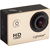 """Lightdow LD4000 1080P HD Sports Action Camera Kit - DSP:NT96650 + 1.5"""" LPS-TFT LCD + 170° Wide Angle Lens"""