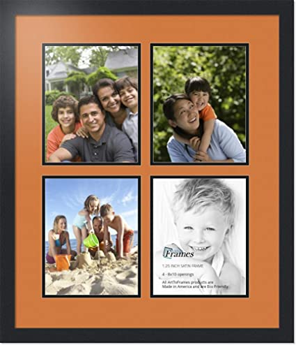 Amazoncom Arttoframes Collage Photo Frame Double Mat With 4 8x10