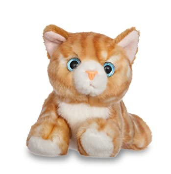 Aurora Gato de peluche, colección Luv to Cuddle, 20 cm, color naranja (