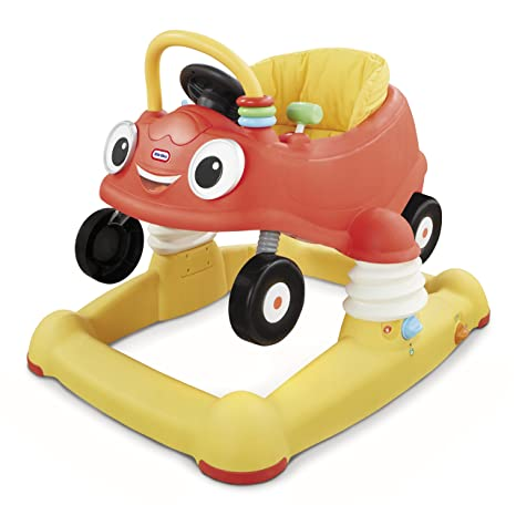 Little Tikes Cozy Coupe 3 in 1 Mobile Entertainer Rojo, Amarillo ...
