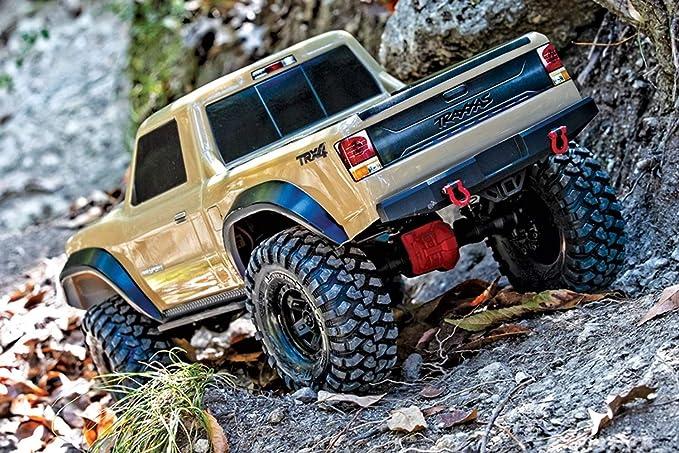 TRX4 Sport: 4WD Electric Truck, Tan