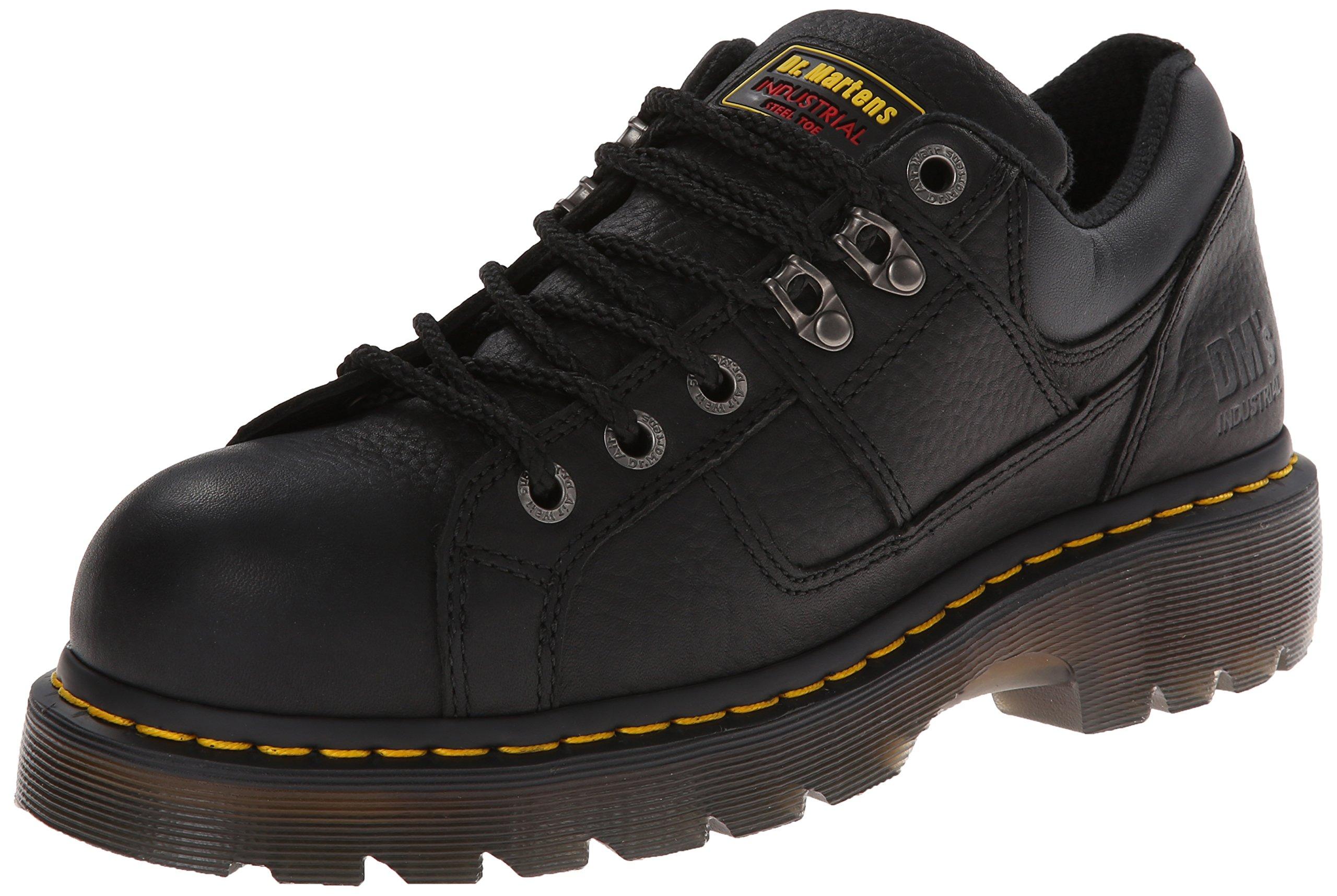 Dr. Martens Gunby Steel Toe Shoe,Black