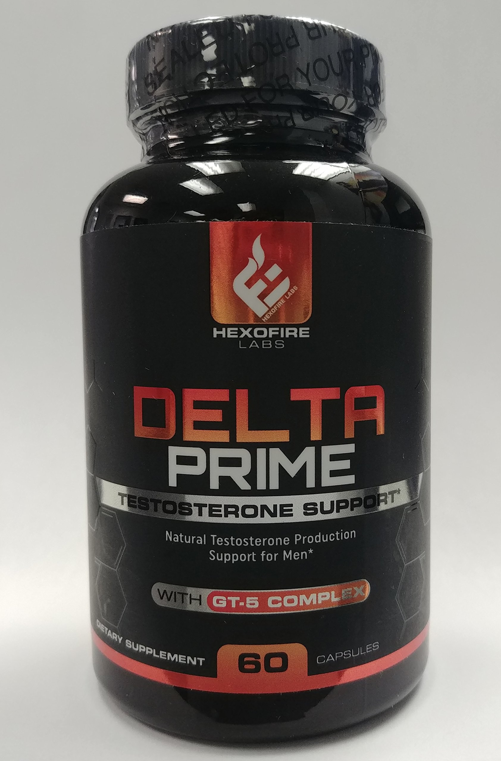HexoFire Labs Delta Prime, Delta Prime Testosterone Production Support Capsules with Vitamin D Zinc & GT-5 Herbal Blend, 60 Capsules (30 Day Supply) by HexoFire Labs (Image #2)