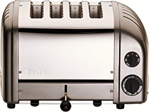 Dualit Classic 4-Slice Toaster, Charcoal