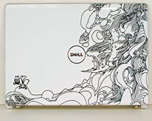 Dell New Genuine OEM Studio 1535 1536 1537 LCD Back Lid Top Cover Design Hepburn Rear Case N407C Mike Ming Surfer Power Button WiFi M122C M109C P613X T924F