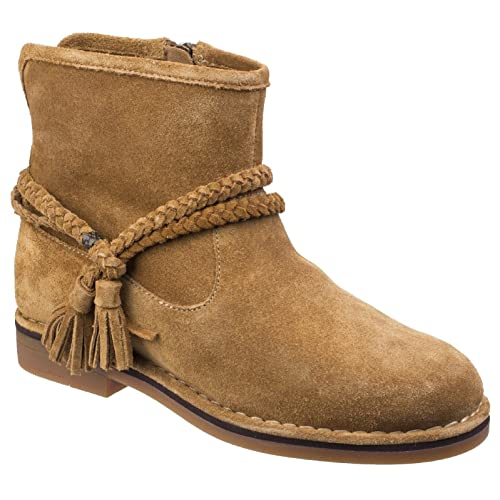 Hush Puppies - Botas al Tobillo Modelo Charity Catelyn para Mujer (38 EU/Camel