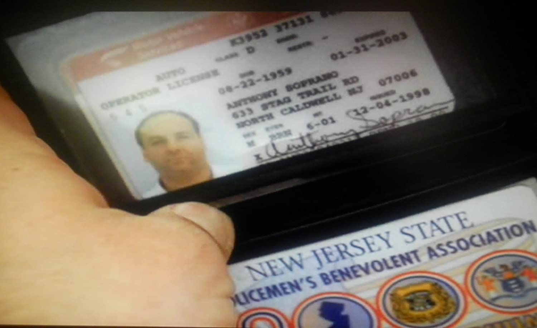amazon com tony soprano screen accurate drivers license prop from
