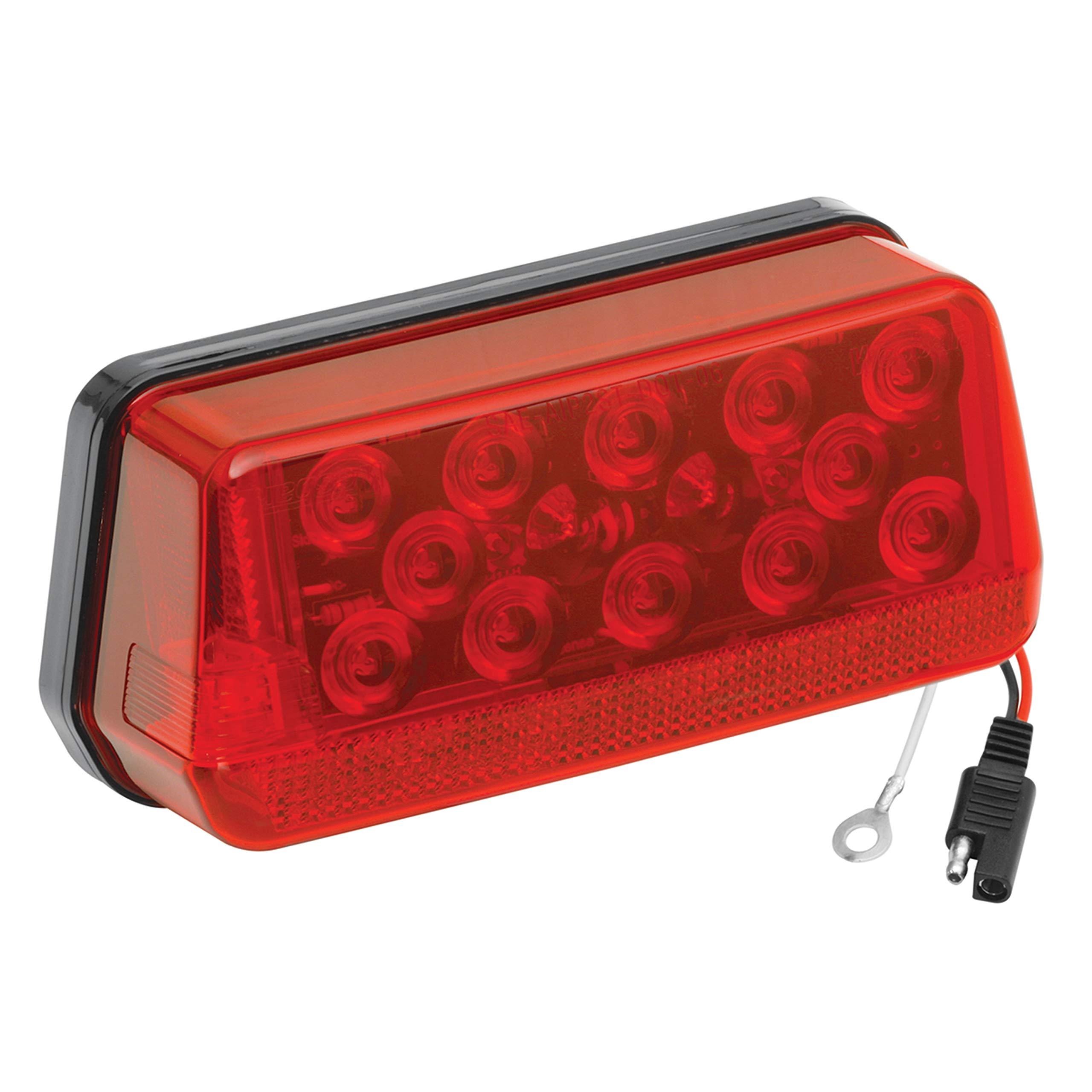 Wesbar 281595 Waterproof LED Wrap-Around Tail Light, Over 80'' Wide Trailer, Left/Roadside by Fulton