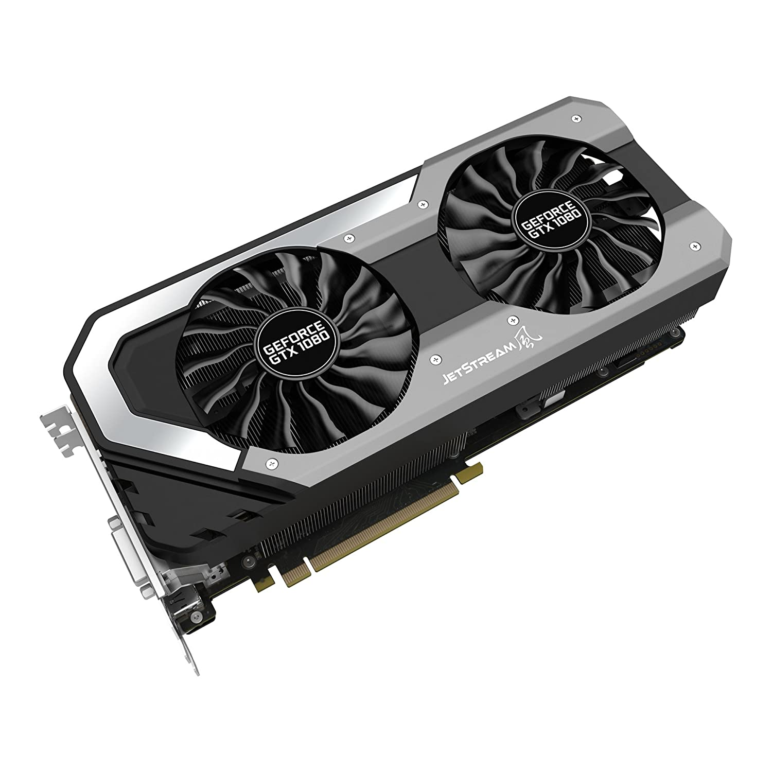 Palit GTX 1080 SuperJetStream Scheda Grafica da 8 GB, VGA, Nero
