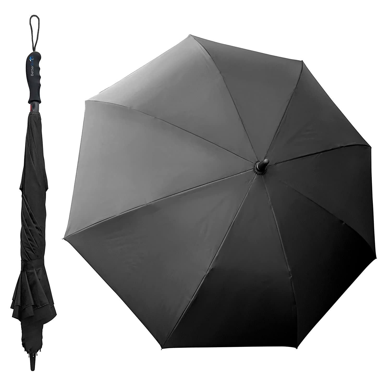 amazon com better brella wind proof reverse open upside down