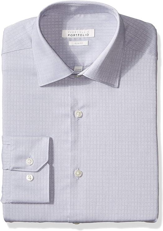 Amazon.com: Perry Ellis - Camisa de vestir para hombre: Clothing