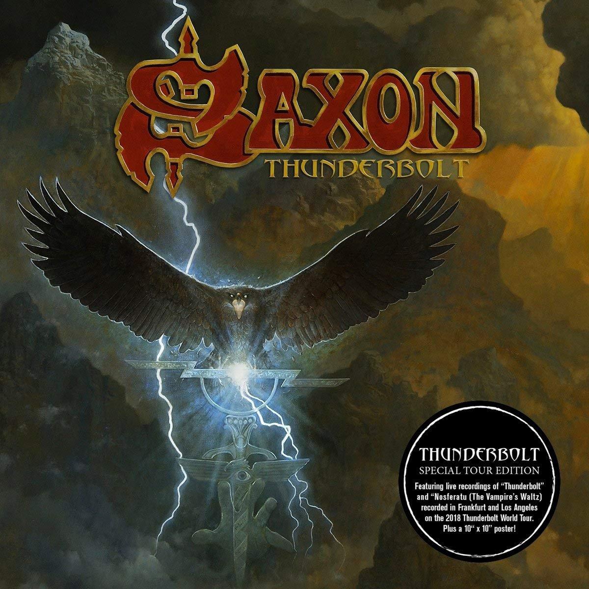 CD : Saxon - Thunderbolt (Special Edition)