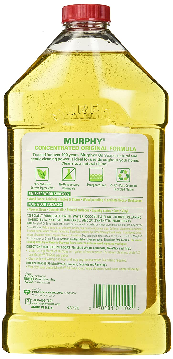 Cleaning hardwood floors with murphy oil soap - Amazon Com Murphy S Oil Soap 32 Ounce Pack Of 3 Health Personal Care