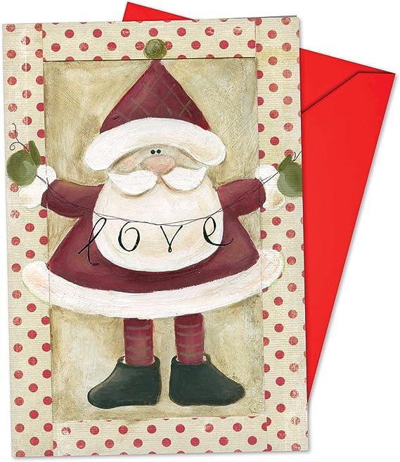 Papá Noel Banners de Navidad Tarjeta de broma, papel, 12 Christmas Card Pack (SKU:B6659BXSG), 12 Christmas Card Pack (SKU:B6659BXSG): Amazon.es: Oficina y papelería