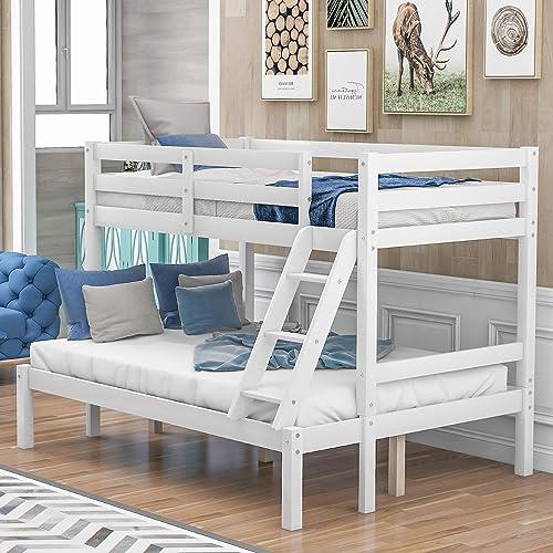 Harper Bright Designs Twin-Over-Full Bunk Bed