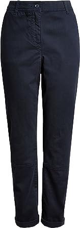 Next Mujer Pantalones Chinos Con Etiqueta En Bajo Petite Azul Marino Eu 46 Uk 18 Amazon Es Ropa Y Accesorios