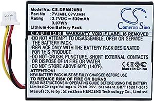 Replacement Battery for DELL PowerEdge M620, PERC H710P, PERC H810,PowerEdge T110 II,fits Part Number 070K80,07VJMH,37CT1, T40JJ,3.7V Li-ion 830mAh/3.07Wh