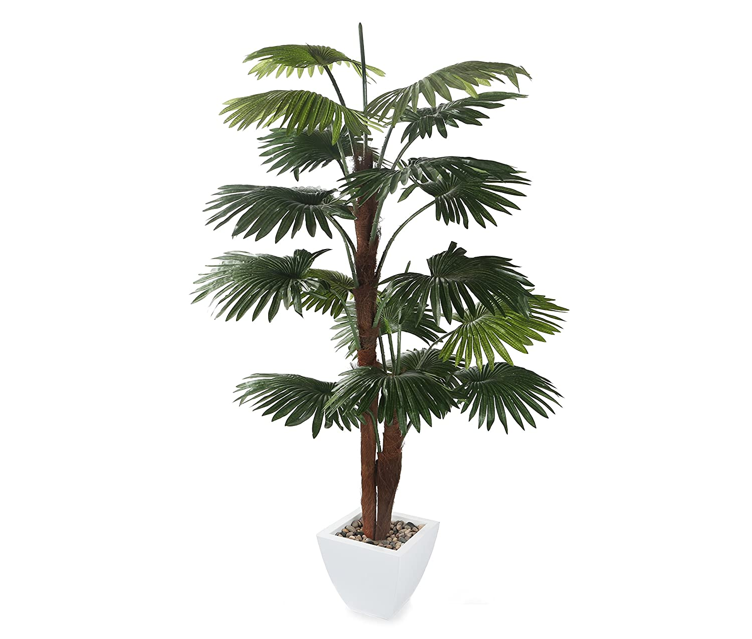 Closer2Nature Artificial 4ft Windmill Fan Palm Tree - Portofino Planter Not Included P052W