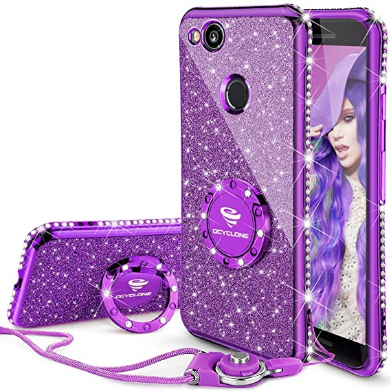 info for 54c8a 1b805 Google Pixel 2 Case, Glitter Bling Diamond Rhinestone Bumper Cute Pixel 2  Phone Case for Girls with Ring Kickstand Sparkly Protective Google Pixel 2  ...
