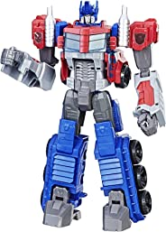Transformers Toys Heroic Optimus Prime Action Figure - Timeless Large-Scale Figure, Changes into Toy Truck - Toys for Kids 6