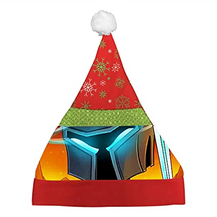 Christmas Minecraft Santa.Minecraft Popularmmos Christmas Cap Santa Hat Party Decor