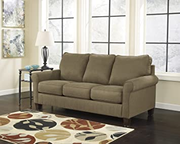 Ashley Furniture Signature Design   Zeth Sleeper Sofa   Queen Size   Easy  Lift Mechanism