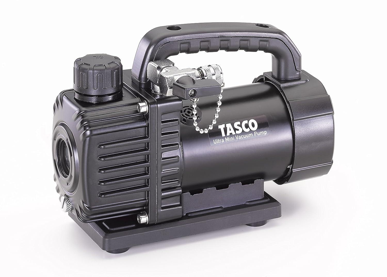イチネンTASCO オイル逆流防止弁付ウルトラミニシングルステージ真空ポンプ TA150SV