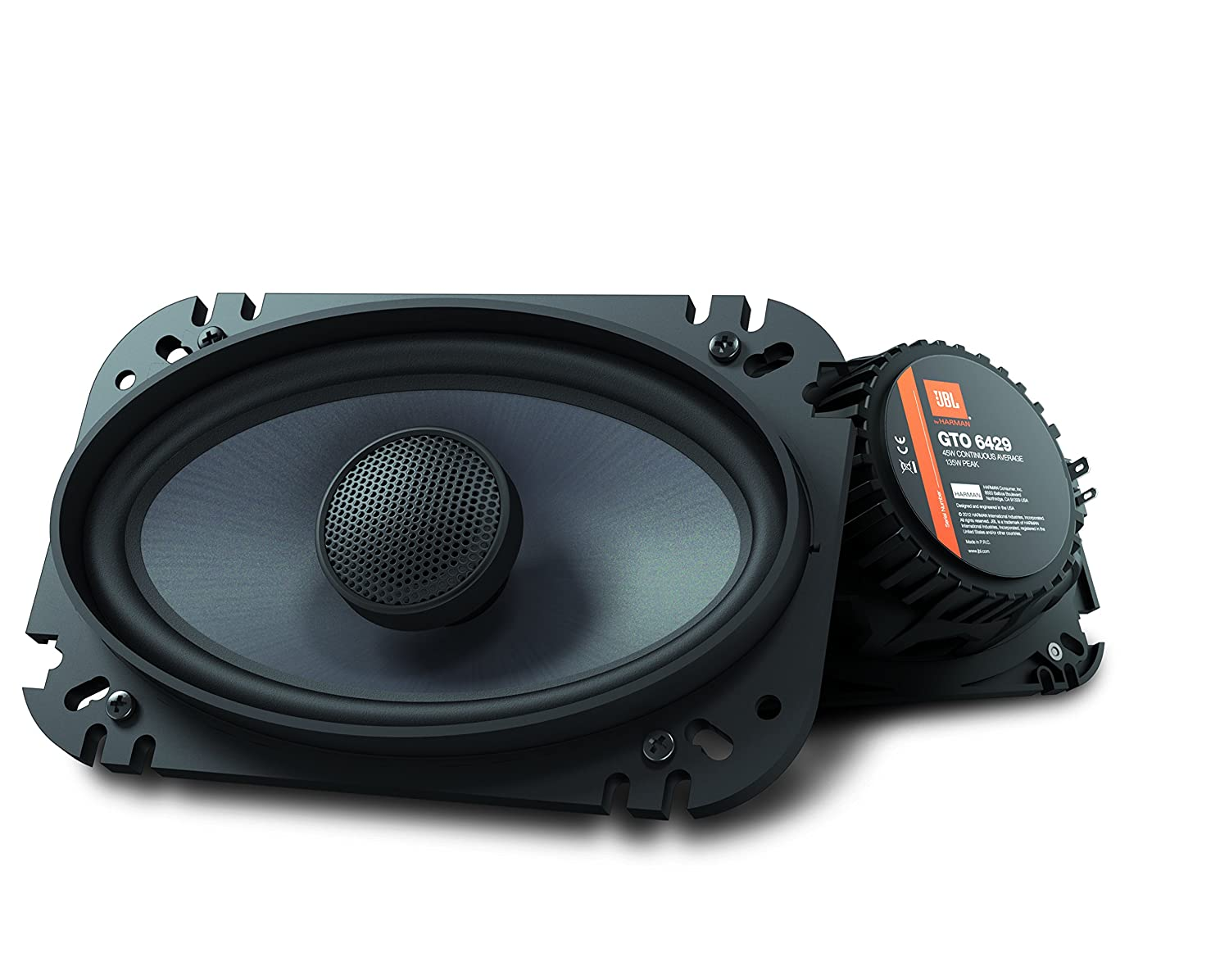 JBL GTO6429 Premium 4 x 6 Inches Co-Axial Speaker - Set of 2