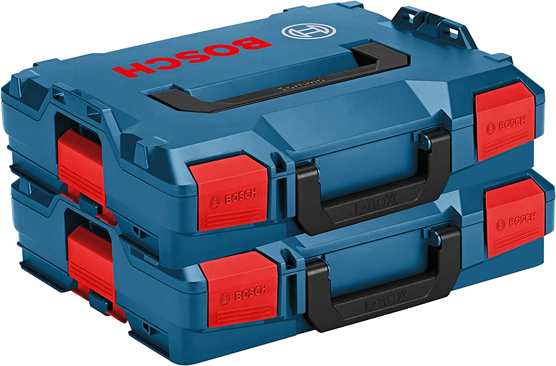 BOSCH Pack 2 Cajas apilables L-Boxx 102: Amazon.es: Bricolaje y herramientas