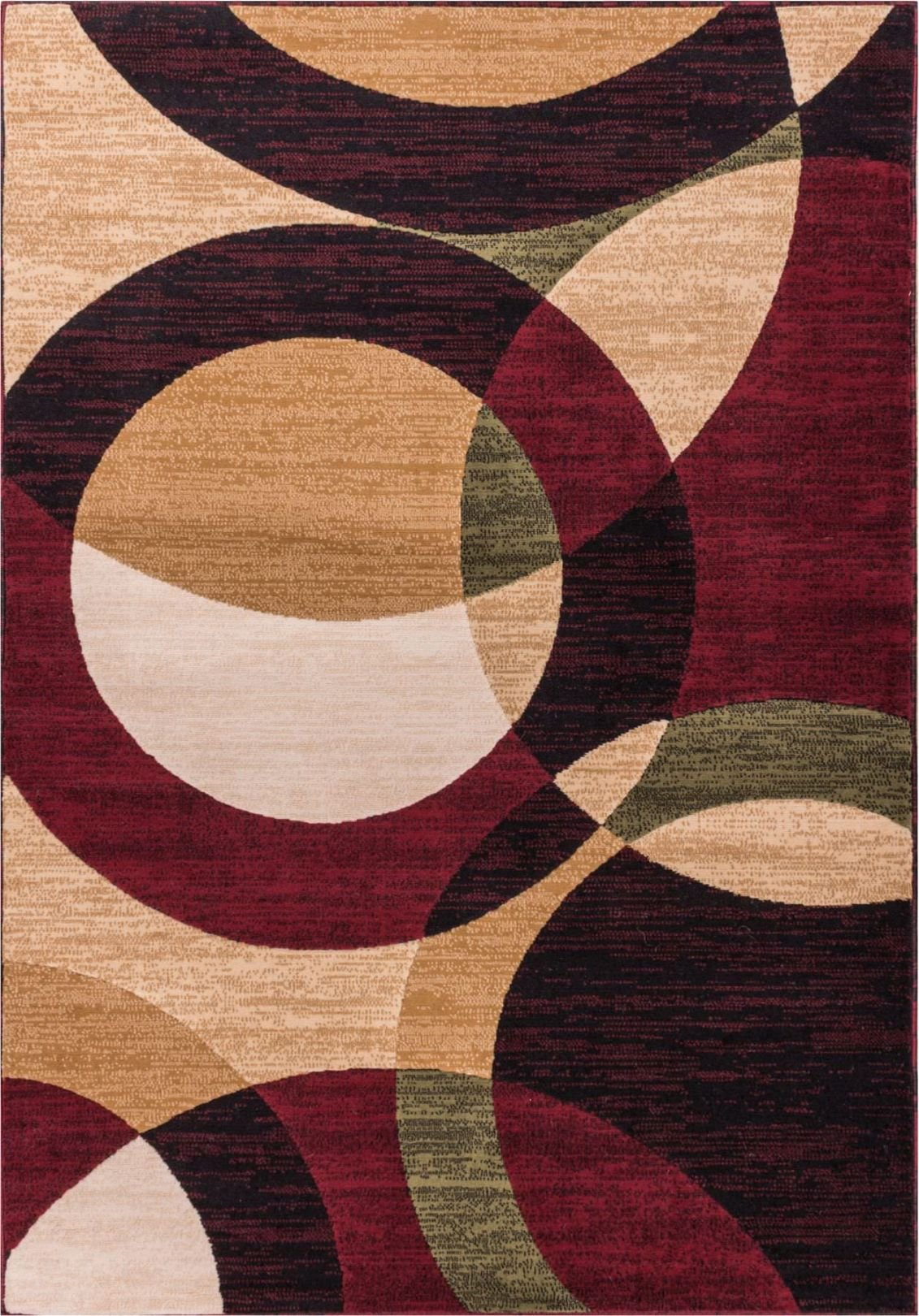 Well Woven Dulcet Bingo Red Modern Geometric Area Rug 3'3'' X 5' by Well Woven