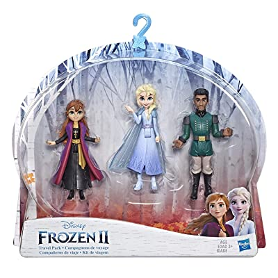 Disney Frozen Anna, Elsa, & Mattias Small Dolls 3 Pack Inspired by The Frozen 2 Movie: Toys & Games