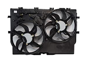 TYC 623730 RAM Replacement Cooling Fan Assembly